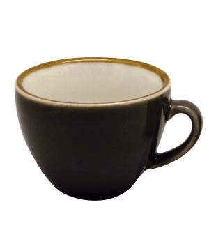 TAZA TE NEO CONICA 230ML PORC CAFE