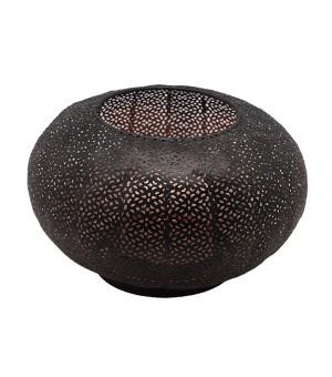Porta Vela esfera metálico
