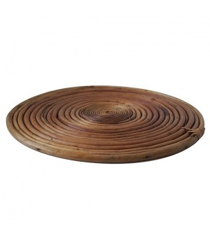 PLATO BASE DECORATIVO BAMBU
